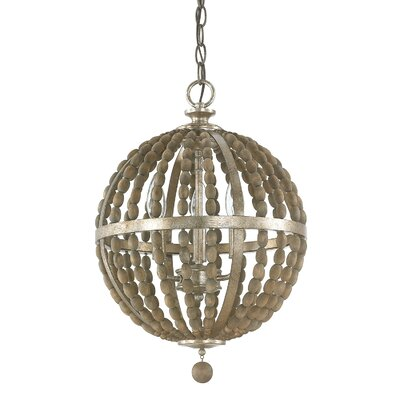 Lowell 3-Light Globe Pendant