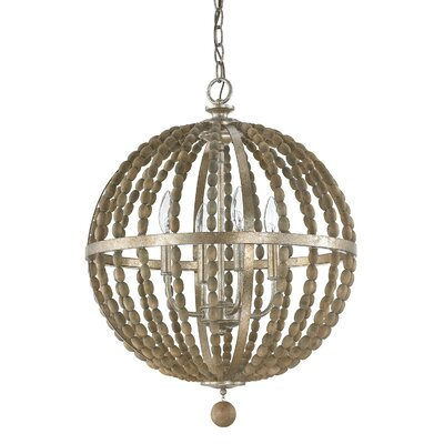 Lowell 4-Light Foyer Pendant