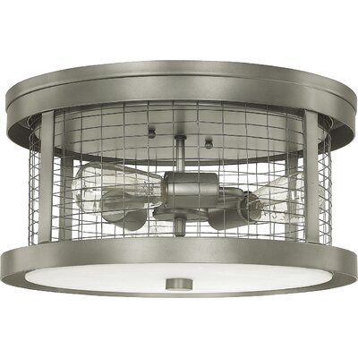 Davis 3-Light Semi Flush Mount