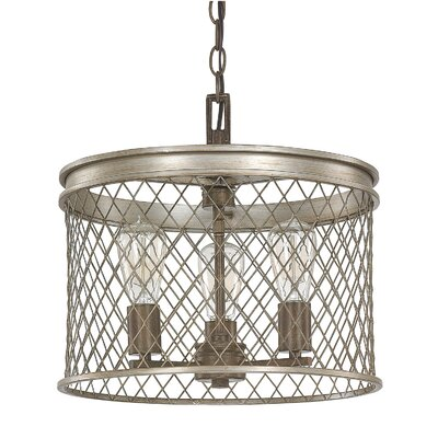 Eastman 3-Light Drum Pendant