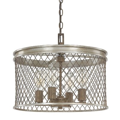 Eastman 4-Light Drum Pendant