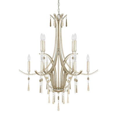 Berkeley 10-Light Candle-Style Chandelier