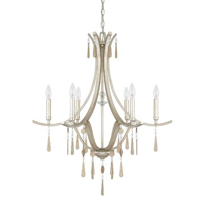 Berkeley 6-Light Candle-Style Chandelier