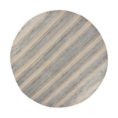 Donny Osmond Home Escape Handmade Natural Area Rug Rug Size: Round 76