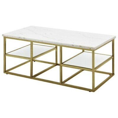Isabelle Marble Coffee Table