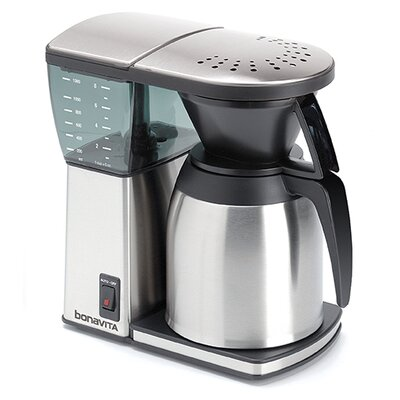 Bonavita 8 Cup Pour Over Coffee Maker with Stainless Steel Lined Carafe 53090