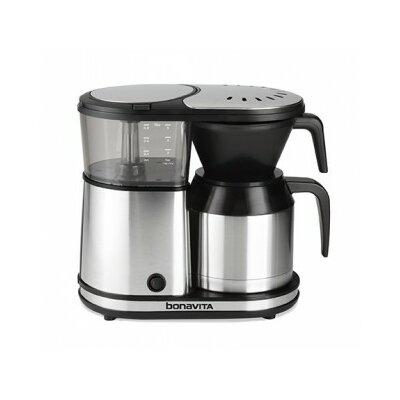 Bonavita BV1500TS 5-Cup Carafe Coffee Brewer, Stainless Steel 285960757