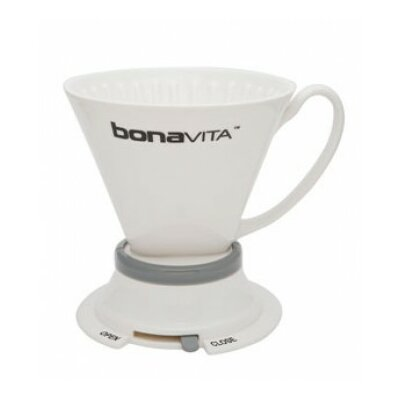 Wide Base Porcelain Immersion Dripper Coffee Maker BV4000IDV2