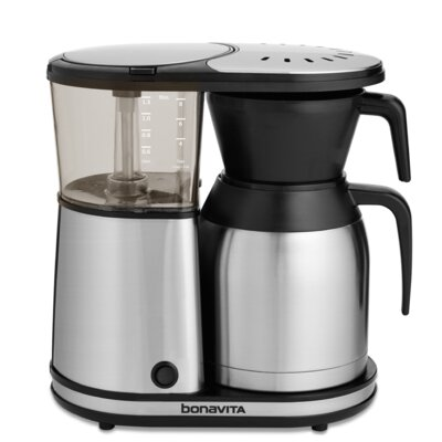 Bonavita BV1900TS New 8-cup Coffee Brewer with Stainless Steel Lined Thermal Carafe 15784644