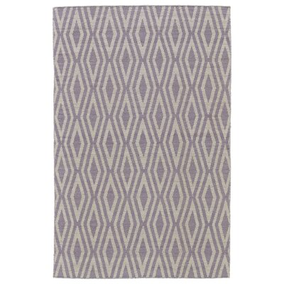 Hallock Hand-Loomed Ivory Area Rug Rug Size: Rectangle 9 x 12