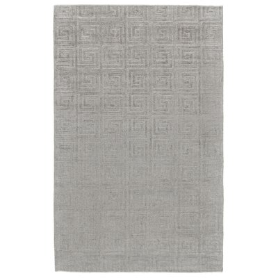 Simone Hand-Loomed Light Blue Area Rug Rug Size: 4 x 6