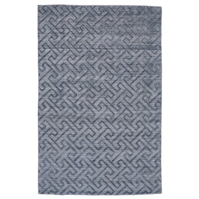 Halpern Hand-Tufted Blue Area Rug Rug Size: Rectangle 4 x 6