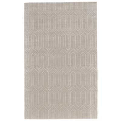 Spencer Hand-Woven Ivory Area Rug Rug Size: 9 x 12