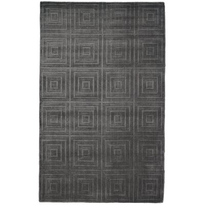 Halsted Hand-Woven Green Area Rug Rug Size: 4 x 6
