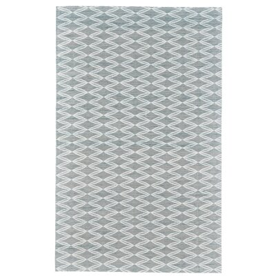 Coria Hand-Woven Green/Emerald Area Rug Rug Size: Rectangle 5 x 8