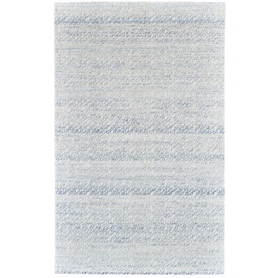 Jarice Hand-Woven Light Blue Area Rug Rug Size: Rectangle 5 x 8