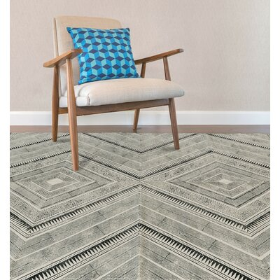 Lovell Hand-Woven Black Area Rug Rug Size: Rectangle 2 x 3
