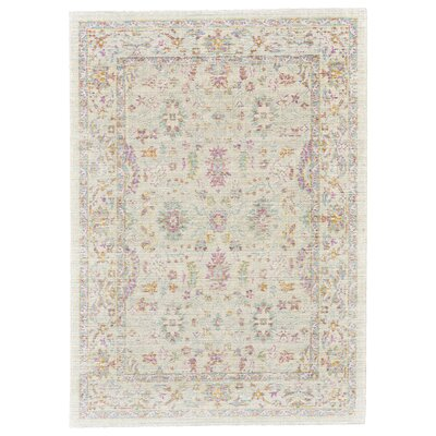 Capucina Beige Area Rug Rug Size: Rectangle 8 x 11