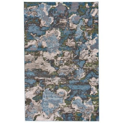 Elkhart Turquoise Area Rug Rug Size: Rectangle 8 X 11