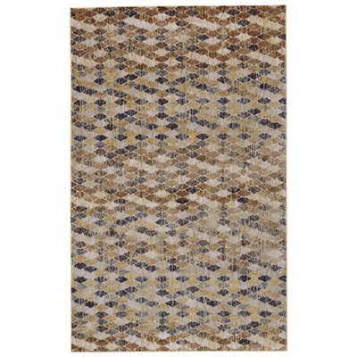 Rogers Castle/Taupe Area Rug Rug Size: Rectangle 8 X 11
