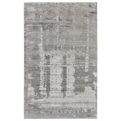 Kassie Gray/Taupe Area Rug Rug Size: Rectangle 22 x 4