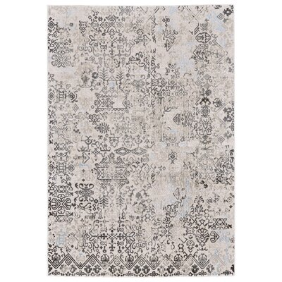 Oldenzaal White/Birch Area Rug Rug Size: 8 X 11