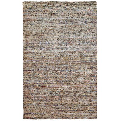 Tortola Handmade Knotted Burlap Area Rug Rug Size: Rectangle 4 x 6
