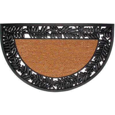 Olive Border Doormat