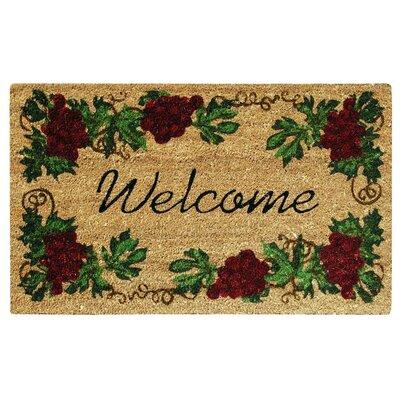 SuperScraper Grape Welcome Doormat