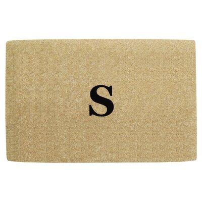 No Border Personalized Monogrammed Doormat