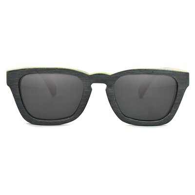 Tmbr. Lo-Key Recycled Maple Wood Sunglasses - Color: Black at Sears.com