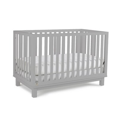 Riley Island 3-in-1 Convertible Crib Finish: Misty Grey 134503-23