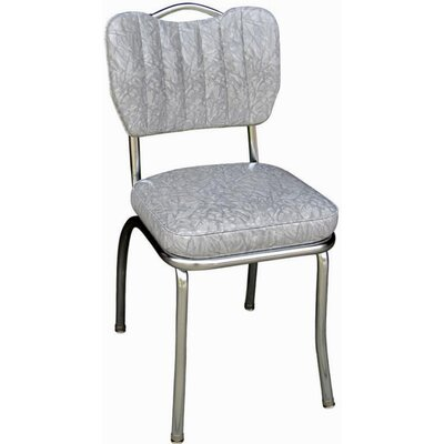 Retro Home Side Chair Upholstery: Cracked Ice Grey