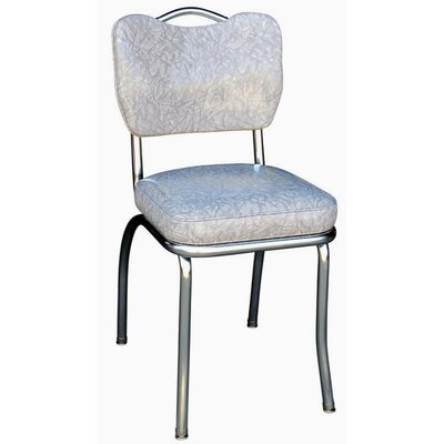 Retro Home Side Chair Upholstery: Grey