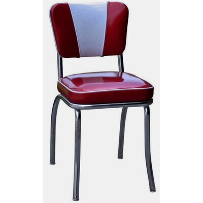 Retro Home Side Chair Upholstery: Glitter Sparkle Red