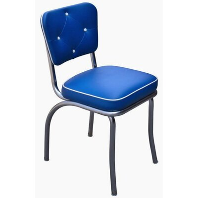 Richardson Seating Retro Home Side Chair - Upholstery: Royal Blue
