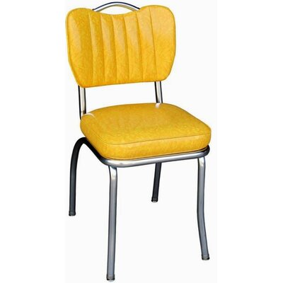 Richardson Seating Retro Home Side Chair - Upholstery: Cracked Ice Yellow at Sears.com