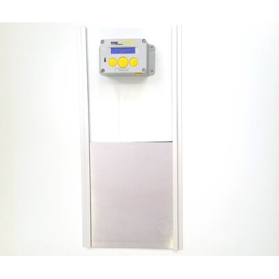 ChickSafe Premium Automatic Coop Door Opener and Door Kit