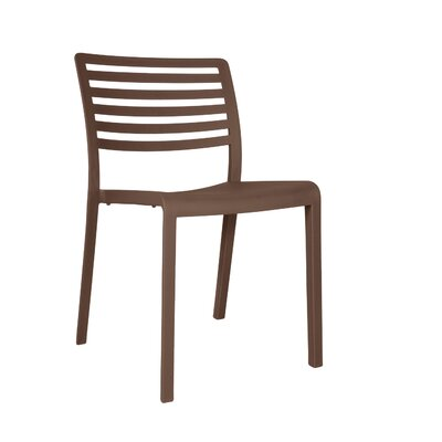 Carpentier Side Chair (Set of 2) Finish: Warm Gray