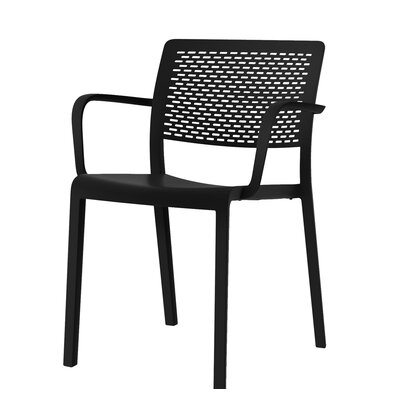 Trama Armchair (Set of 2) Color: Black