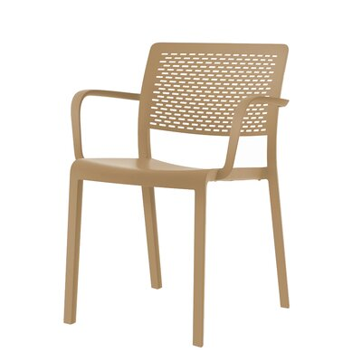 Trama Armchair (Set of 2) Finish: Sand