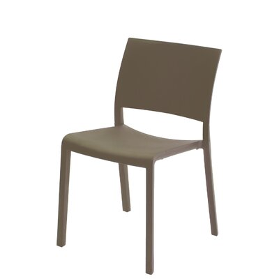 Fiona Side Chair (Set of 2) Finish: Warm Gray