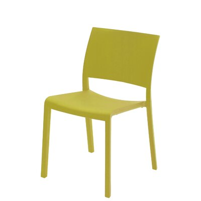 Fiona Side Chair (Set of 2) Finish: Green Olive