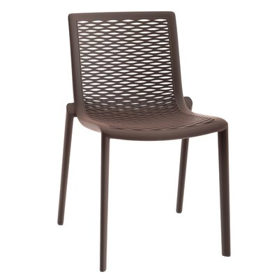 Netkat Side Chair (Set of 2) Finish: Warm Gray
