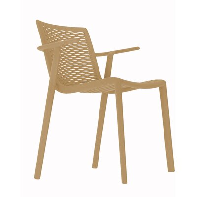 Netkat Armchair (Set of 2) Color: Sand