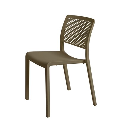 Trama Side Chair (Set of 2) Finish: Warm Gray