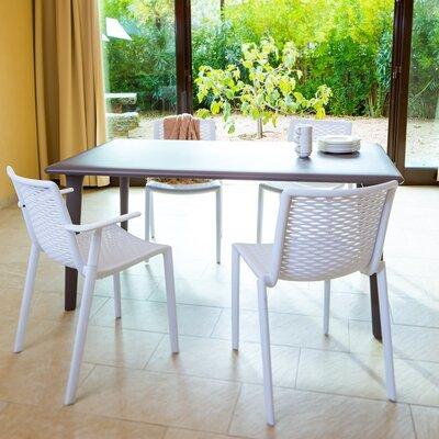 Dessa Rectangular Dining Table Finish: Warm Gray