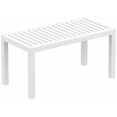 Gina Coffee Table Color: White