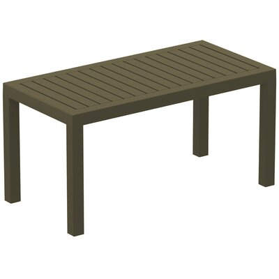 Gina Coffee Table Finish: Warm Gray