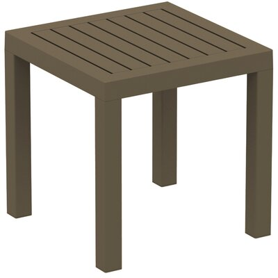Gina End Table Color: Warm Gray